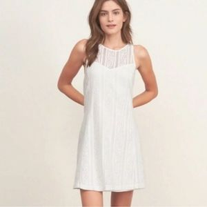 White lace dress- Abercrombie and Fitch